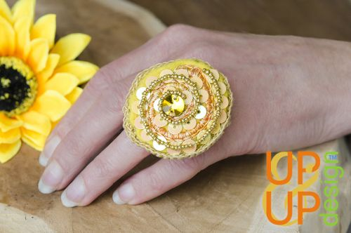 Up & Up Ring: Spiral of Smile!
