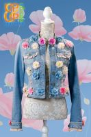 Up & Up upgraded 'Jeans & Spring Flowers' jacket> reserved for Iratxe